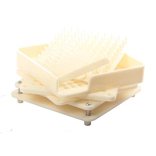 Easy Go Shopping 100 Löcher ABS-Material manuelle Kapsel-Füller für 0 # mit 6 Teilen -