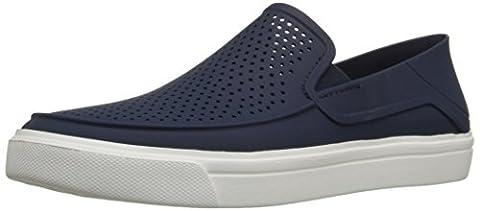 Crocs Herren Citilnrokaslp Sneakers, Blau (Navy/White), 42/43 EU