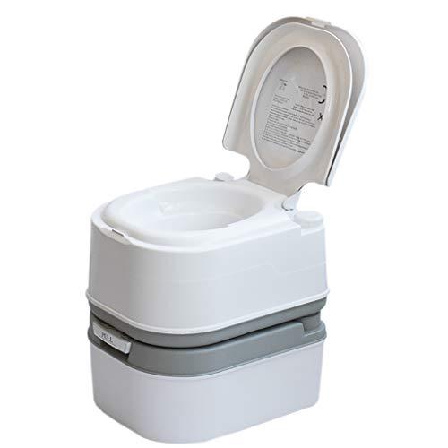 LIU UK Portable Toilet Tragbare Camping WC 5 Gallone Erholung Flush TöPfchen Kommode 24LKapazitäT Sanitation Versorgung Outdoor Indoor Caravan Boote Reisen Wandern