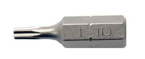Century Drill and Tool 68410 Premium S2 Steel Star Insert Screwdriving Bit, T10 by Century Drill & Tool -