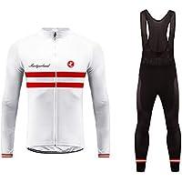 Uglyfrog Ciclismo Maillot Hombres Jersey Culote Pantalones Largos Mangas Largas Ciclismo Ropa Maillot para Deportes al