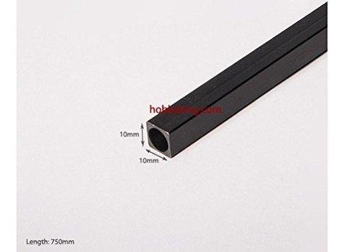 Carbon Fiber Square Tube 750x10mm