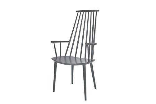 HAY - J110 Stuhl - steingrau - Poul M. Volther - Design - Esszimmerstuhl - Speisezimmerstuhl