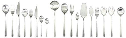 MEPRA Linea Ice Servierset, 151 Besteck Set, Silber
