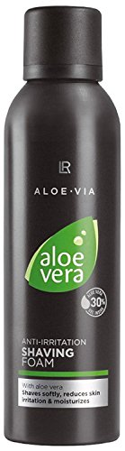 LR ALOE VIA Aloe Vera Hautberuhigender Rasierschaum 200 ml