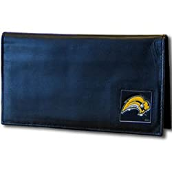 NHL San Jose Sharks Deluxe Leather Checkbook Wallet