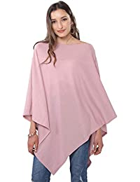 158e9e3f5 DiaryLook Ladies Button Poncho Cape Cashmere Feel Multiway Shawl Scarf Wrap
