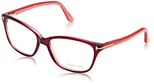 Tom Ford Damen Ft5293 Brillengestelle, Pink (Fucsia/ALTRO), 54