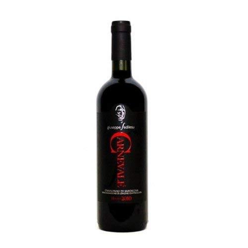 6 x 0.75 l - Carnevale, Cannonau di Sardegna Doc, vino rosso sardo prodotto da Giuseppe Sedilesu a Mamoiada