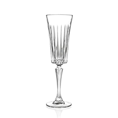 Côté Table Rcr Timeless Vap Flûte, Verre, Transparent, Confection 6 pièces (lot de 6)
