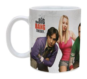 Big Bang Theory:Cast Ceramic Mug