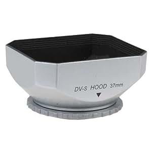 Fotodiox Pare-soleil à l'ombre pour Objectif Caméscope DV 37 mm Gris