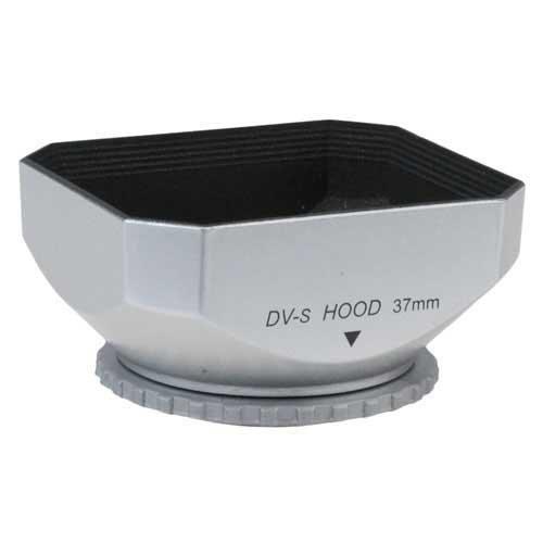 Fotodiox videocamera, videocamera DV paraluce, tenda da sole, 37mm Argento [Fotocamera]