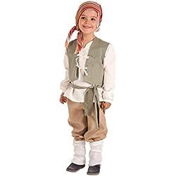 Disfraz de Campesino Medieval Carlos para niño