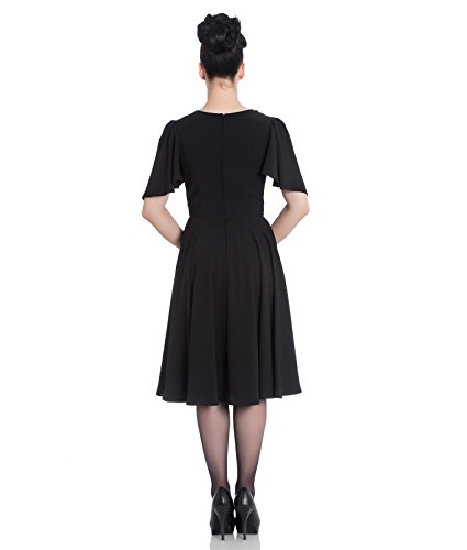 Hell Bunny Carolina Cocktail Vintage Style Party Dress – UK 10 (S)