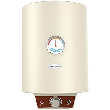 Havells Monza EC 10 10-Litre Storage Water Heater (Ivory)