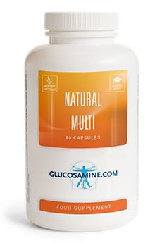 Natürliches Multivitamin-Supplement (90 Kapseln, nicht-synthetisch) (Multivitamin Multi-mineral-ergänzung)