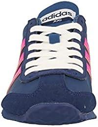 adidas VS JOG W - Zapatillas deportivas para Mujer, Azul - (AZUBAS/ROSIMP/AZUMIS) 41 1/3