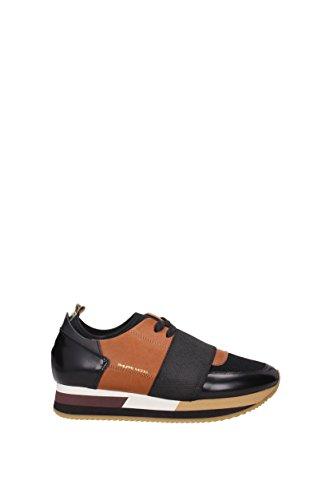 Sneakers Philippe Model Donna - Pelle (NALDVA) EU Marrone