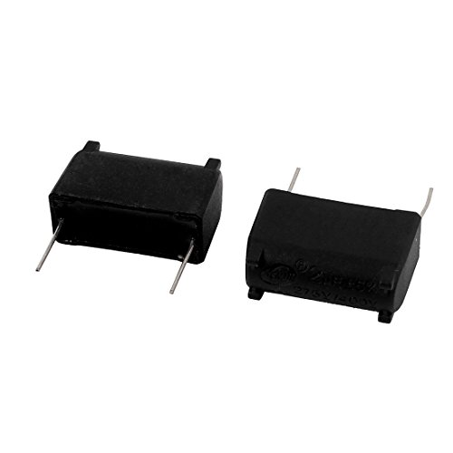 Aexit 2Pcs 2uF AC 275V / 400V condensatore a induzione con film in polipropilene ID: 758847