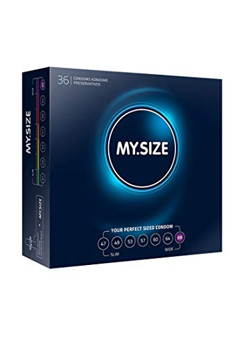 My.Size Kondome Größe 7, 69 mm, Großpackung (36 Stück)