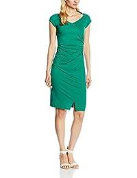 para Vestido mangas acanalado raglán Hotsquash lateral mujer con nYzvZ1rYwx