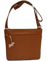86f5ecfaf15c RADLEY  Pocket Bag  Large Tan Leather Across Body Bag - RRP £125