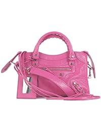 e4bf33a41d Balenciaga Borsa A Mano Donna 300295D94JN5570 Pelle Rosa