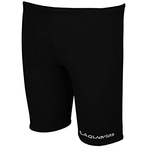 Aquarias Solid Jammers Black Size 22