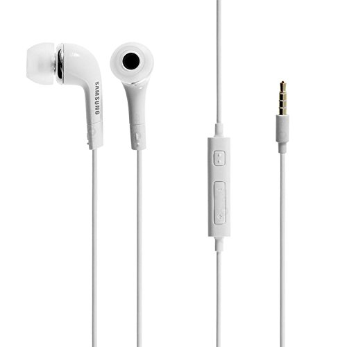 Samsung OEM 3.5mm Stereo Headset for Galaxy S5, S4, S3, Note - Non-Retail Packaging - White