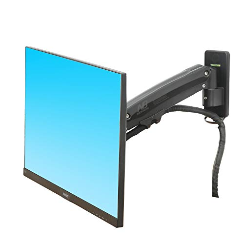 NB North Bayou Monitor TV Wall Mount Bracket LED LCD TV Mount Gas Strut Arm  Fits 27