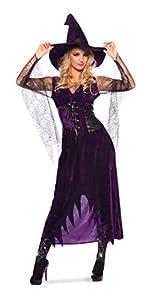 Folat Disfraz Lila Bruja Halloween Carnaval (S/M)