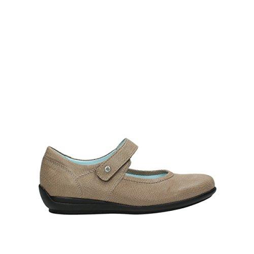 Wolky encaje hasta botas 9313meta, color gris, talla 45 EU