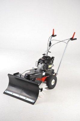 Kehrmaschine mit Schneeräumschild haaga 870