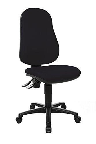 Topstar Point 60, Bürostuhl, Schreibtischstuhl, Stoff, schwarz