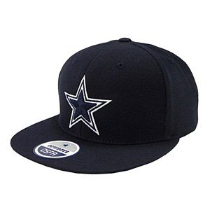 Dallas Cowboys Basic Snapback Cap, navy (Hut Einstellbare Logo Basic)