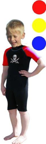 Soles Up Front Combinaison de plongée courte en néoprène 2 mm pour fille et garçon