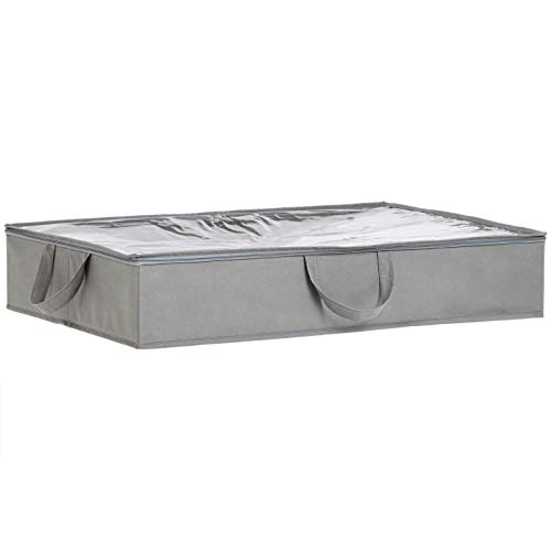 AmazonBasics - Unterbettkommode aus Stoff - 2 Stück