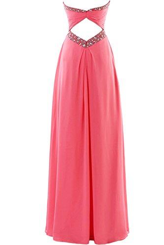 Gorgeous Bride Zauberhaft Abendmode Lang Tüll Empire Abendkleider  Festkleider Ballkleider Orange-Rosa ...