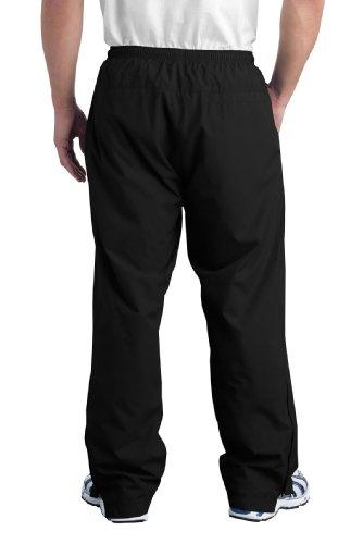 Nuovo Sport-Tek-Wind Pant. PST74/2XL, colore: nero) Nero