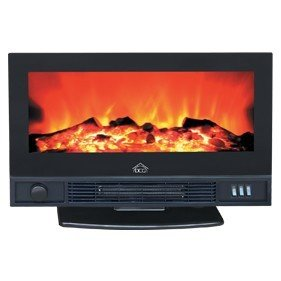 DCG Eltronic FP5200 Freestanding fireplace Electric Black fireplace - Fireplaces (550 mm,...