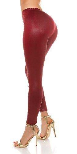 KouCla - Legging - Femme Bordeaux