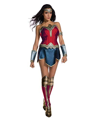Shorts Woman Kostüm Wonder - Horror-Shop Original Wonder Woman Superheldin-Kostüm XS