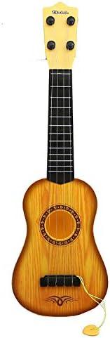 Popsugar 4 Strings Acoustic Guitar (Yellow,THHDGS-B4yellow)