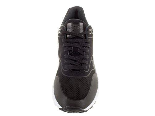 Nike Air Max 1 Ultra Moire, Sneakers basses femmes Nero (Black/Black/Metallic Silver/White)