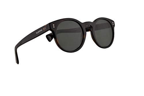 Valentino VA 4009 Sonnenbrille Havana Mit Grauen Grünen Gläsern 50mm 500271 VA4009S VA4009/S VA4009