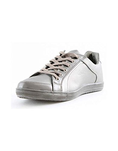 Mapleaf - Chaussure basse homme Mapleaf PQ870 Silver Gris Gris
