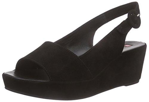 Högl Claire, Sandales Compensées femme Noir - Black (0100)