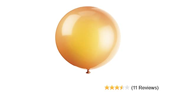 """ORANGE  5/"""" METALLIC BALLOONS 10 PACK BRIGHT//COLOURFUL//VIBRANT//PARTY//VALUE"""