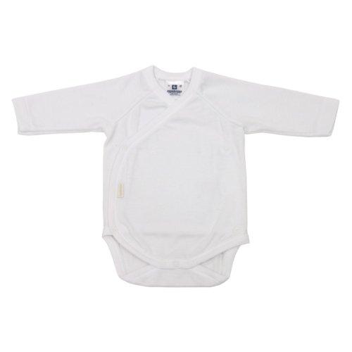 Cambrass 9768 - Body para recién nacidos, de manga larga, tamaño T.00, color blanco Cambrass
